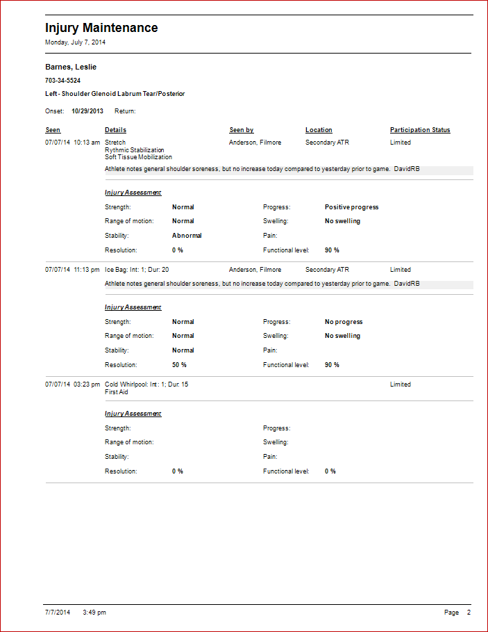 FlanTech – First Aid Incident Report Template